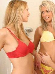 Pictures of Britney Lightspeed being naughty with her friends