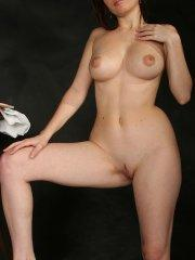 Pictures of Cam Vivian totally nude and ready to fuck