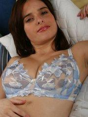 Pictures of Cam Vivian craving sex in her lingerie