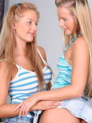 Pics of Courtney and Heather Lightspeed making out like crazy