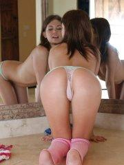 Pictures of teen Diddylicious showing you her round teen ass