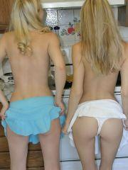 Pics of Dirty Aly and XXX Raimi getting it on in the kitchen