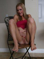 Pictures of McKenzie Miles spreading for your hard shaft