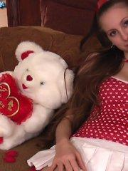 Pictures of Michelle Lynn giving herself a special xmas treat