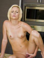 Pictures of Miley Mason getting her pussy nice and wet