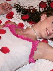 Pictures of Natalie Sins ready for some hot action this Valentine's