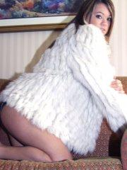 Pictures of teen  Naughty Paige trying to stay warm in her panties