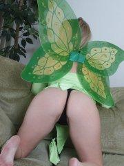 Pictures of teen star Passion 18 dressed as your personal fuck fairy