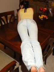 Pictures of Dream Of Dani looking cute in jeans