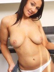 Pictures of Princess Rio getting dirty in the kitchen