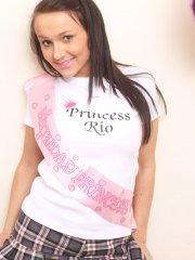Pictures of Princess Rio celebrating her 18th birthday