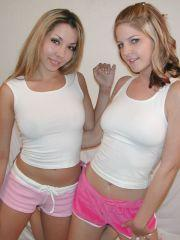 Pictures of 2 lesbian lovers getting naked