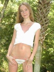 Pictures of teen Skinny Mindy showing you up her short skirt