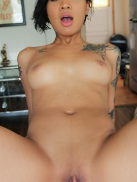 Honey Gold Asian Nubile Gets The Gray Treatment