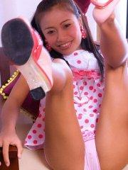 Pictures of teen Thainee teasing with her cuteness